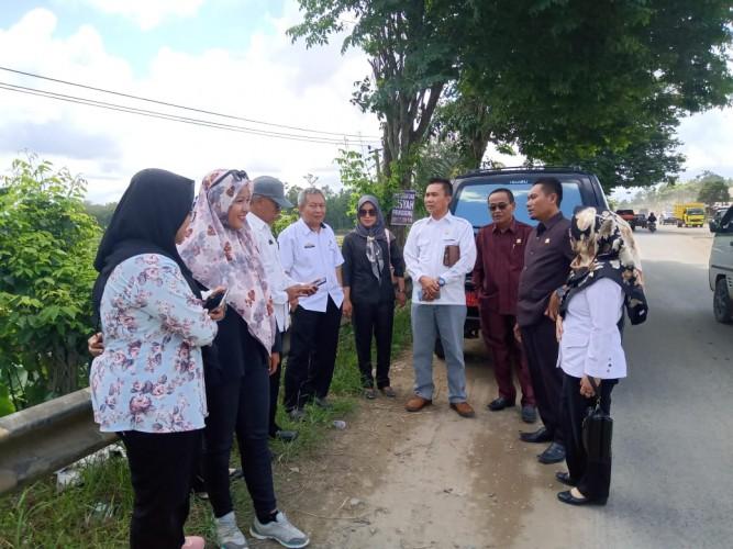 DPRD Pringsewu Soroti Tumpukan Sampah di Way Sekampung