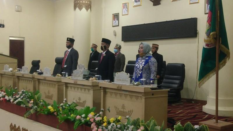 DPRD Tuba Gelar Paripurna Mendengarkan Pidato Presiden