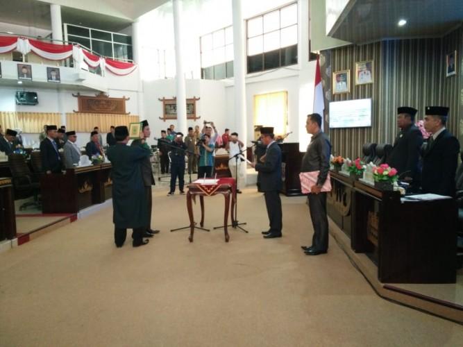 DPRD Way Kanan Gelar Sidang Paripurna Istimewa PAW