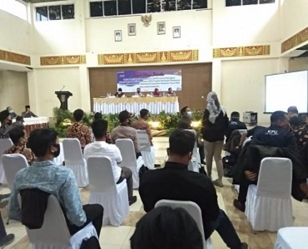 DPS Pilkada Pesawaran Hasil Coklit 314.876 Orang
