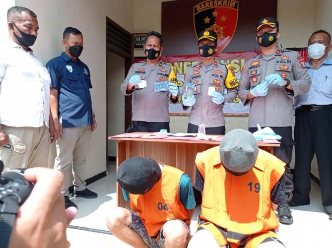 Dua Bandar Sabu Wilayah Natar Ditangkap