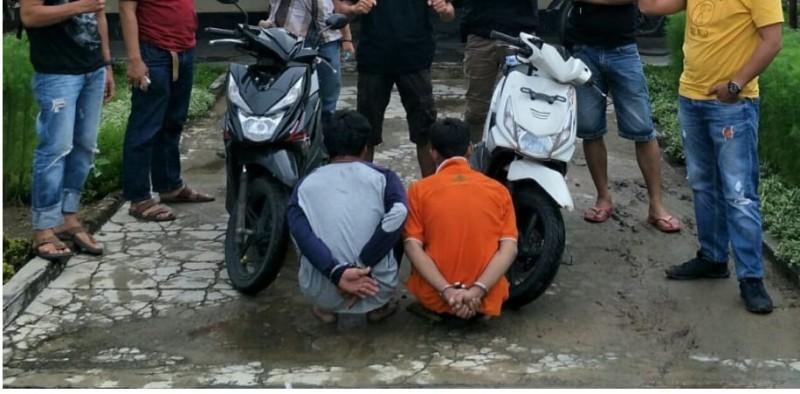 Dua Begal Bersenjata Golok Ditangkap