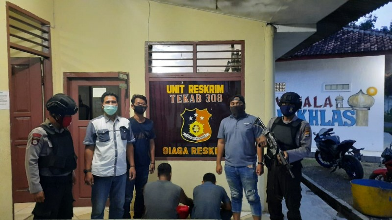 Dua Buronan Curanmor Ditangkap di Pesawaran