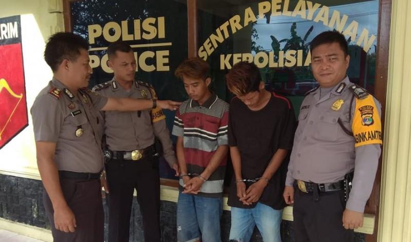 Dua Buruh Pencurian di Balai Kampung Ditangkap