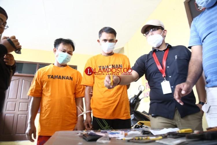 Dua dari Empat Komplotan Ganjal ATM Lintas Provinsi Dibekuk