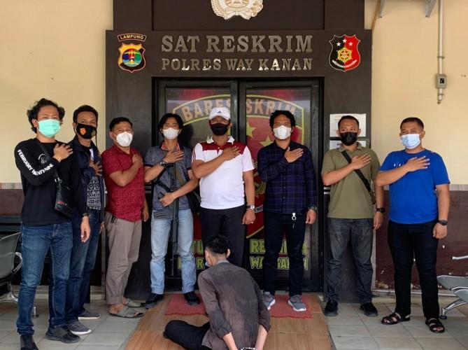 Dua dari Tujuh Buronan Perampok di Way Kanan Ditangkap