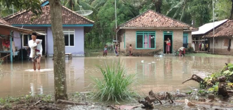 Dua Desa di Kalianda Terendam Banjir