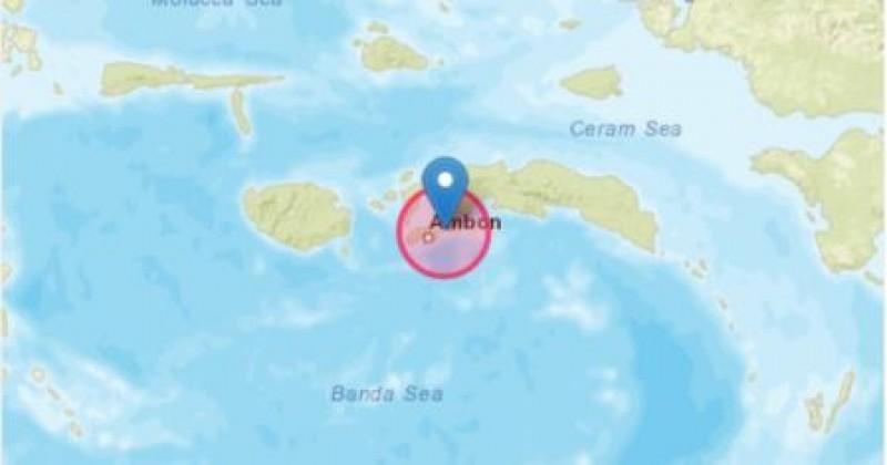 Dua Gempa Beruntun Mengguncang Ambon