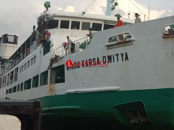 Dua Kapal Terlibat Tabrakan Terancam Tdak Operasi Saat Lebaran