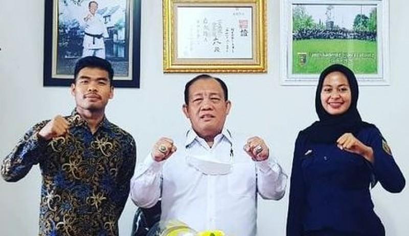 Dua Karateka Lampung Diharapkan Cetak Prestasi Internasional