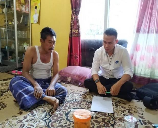 Dua Korban Kecelakaan Terima Santunan