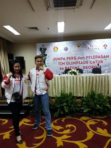 Dua Mahasiswa Perbanas Ikut Olimpiade Catur Dunia