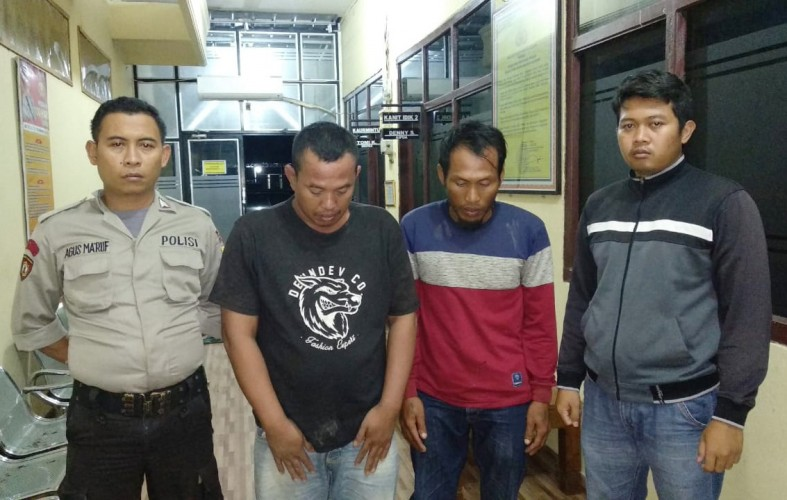 Dua Nelayan Denteteladas Ditangkap Atas Dugaan Penyalahgunaan Narkoba