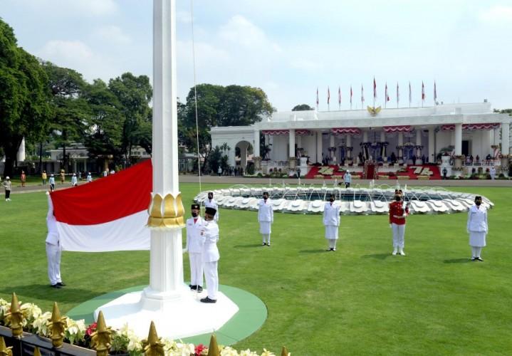 Dua Paskibraka Nasional 2021 Asal Lampung Bercita-cita Jadi Polisi