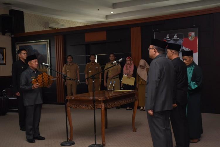 Dua Pejabat Eselon II Tubaba Dipindahtugaskan
