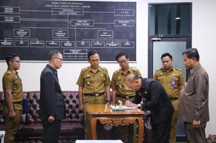 Dua Pejabat Pemprov Ikuti Pelantikan Susulan