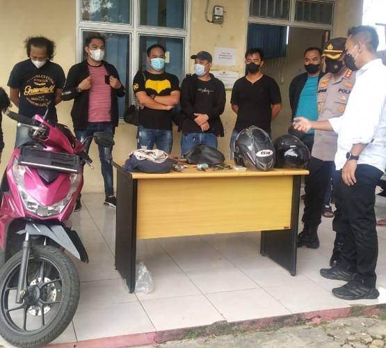 Dua Pencuri Motor di Bandar Lampung Tewas Baku Tembak dengan Polisi