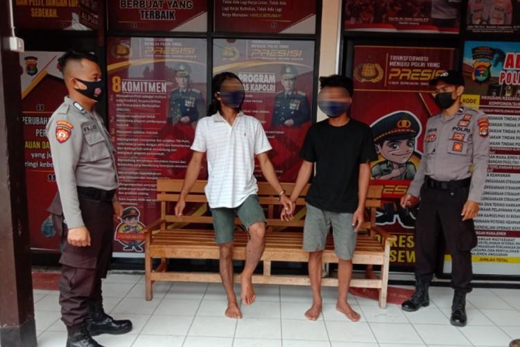 Dua Pelaku Curanmor Lintas Kabupaten Dibekuk