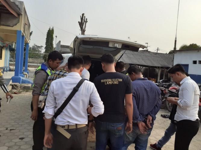 Dua Pelaku Kriminal Warga Palembang Ditangkap saat Operasi Zebra