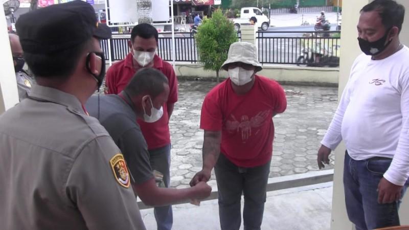 Dua Pelaku Pungli di Bawah <i>Flyover</i> Kimaja Bandar Lampung Ditangkap
