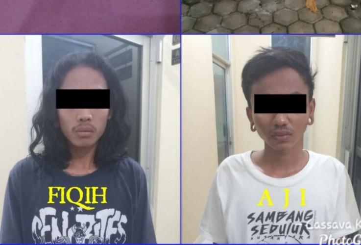 Dua Pembobol Toko HP di Seputih Raman Tertangkap Tangan