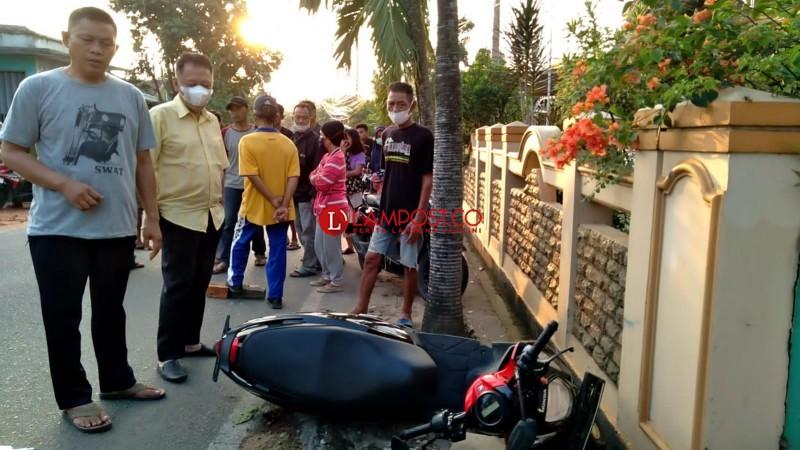 Dua Pemuda Korban Kecelakaan Tunggal Merupakan Warga Jagabaya