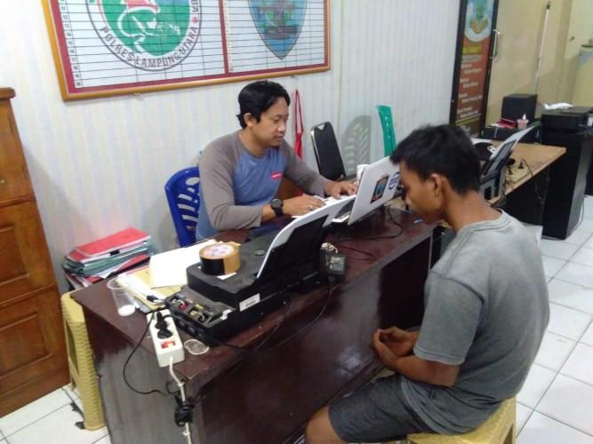 Dua Pemuda Pengangguran Ditangkap Usai Transaksi Sabu