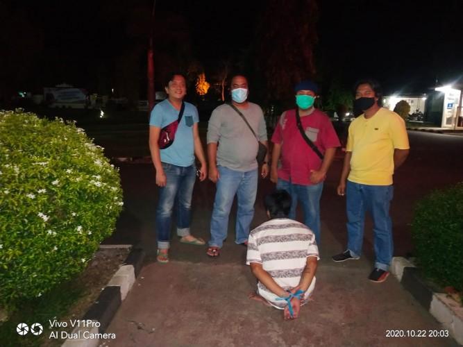 Dua Pemuda Penjambret Ponsel di Stadion Sukung Ditangkap