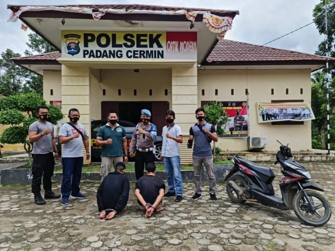 Dua Pemuda Perampas Ponsel di Padangcermin Dibekuk Polisi
