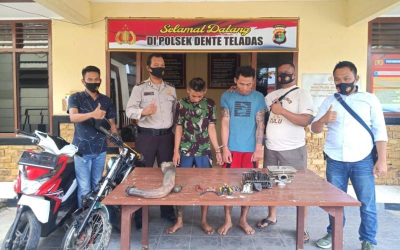 Dua Pencuri Spesialis Bobol Rumah di Tulangbawang Diringkus