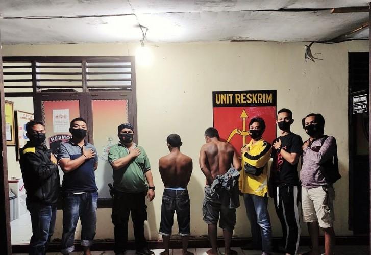 Dua Pencuri Tabung Gas Elpiji 3 Kg Diringkus Polisi