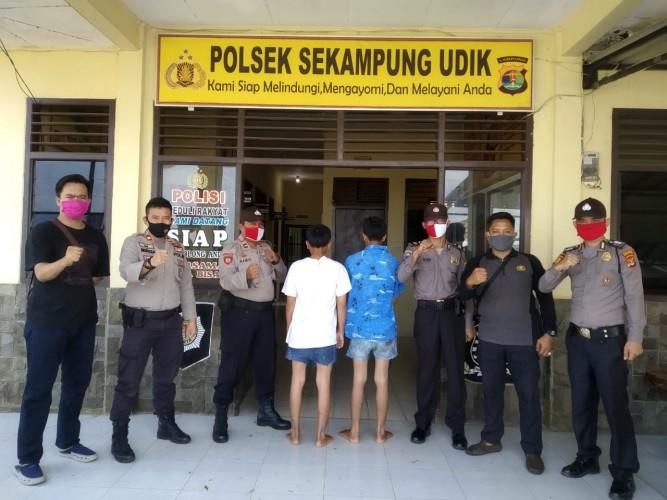 Dua Penodong di Taman Purbakala Dibekuk Polisi