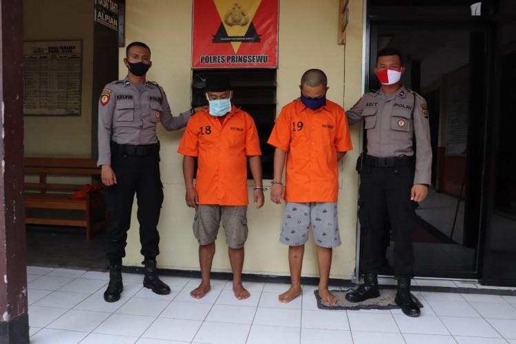 Dua Pemuda Pekon Sidoharjo Ditangkap karena Narkoba