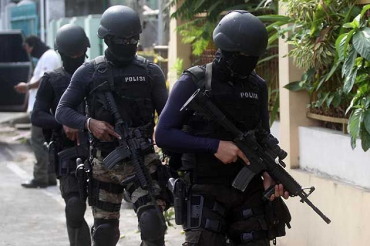 Dua PNS Diduga Teroris Ditangkap Densus 88