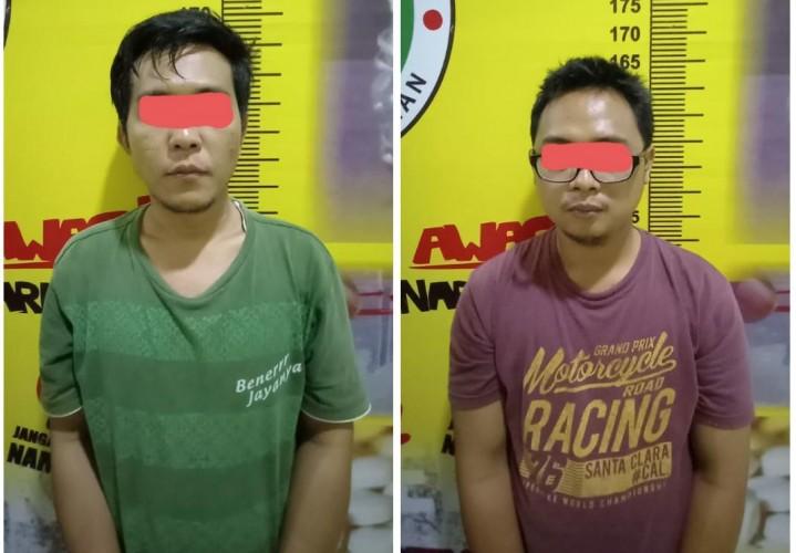 Dua Pria Ditangkap saat Transaksi Narkoba di Tegineneng