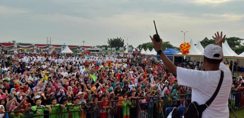 22 Ribu Peserta Banjiri Milenial Road Safety Festival di Pesawaran