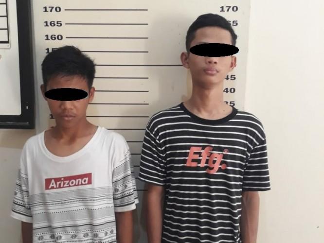 Dua Remaja Perampas Ponsel Pelajar Diciduk Polisi