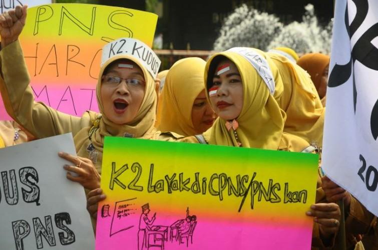 Dua Ribuan Pegawai Honor Lamteng Masih Aman