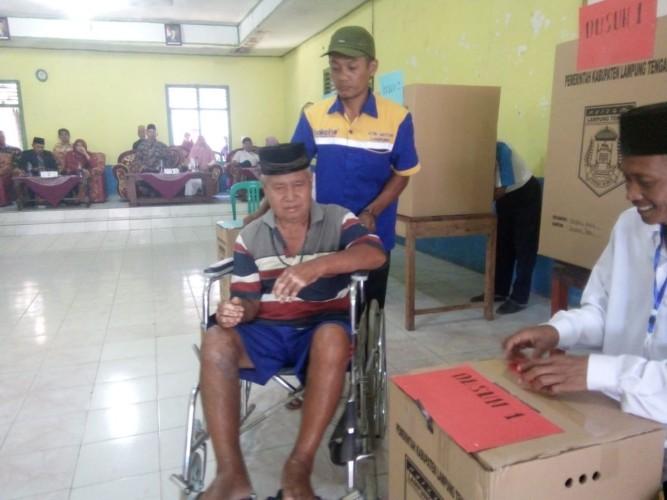 Dua Ribuan Pemilih Tentukan Kepala Kampung Sendang Baru