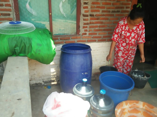 Dua RT di Penengahan Krisis Air Bersih