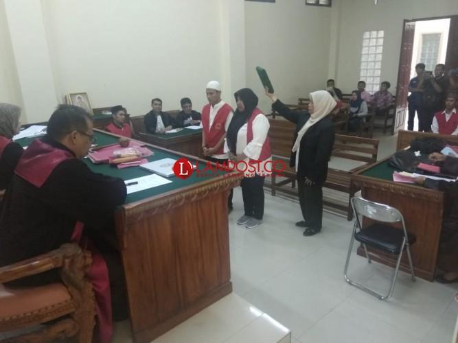 Dua Saksi Dihadirkan Jaksa di Persidangan Kasus Narkoba Sabu dan Ganja 400 Kg