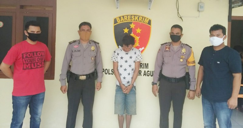 Dua Tahun Buron, Pencuri Ini Ditangkap di Rumah Mertua