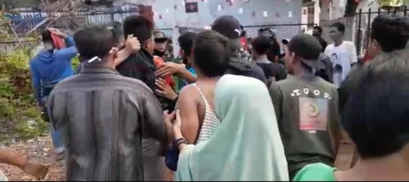 Dua Terduga Jambret Ditangkap Warga Yang Sedang Lomba 17-an