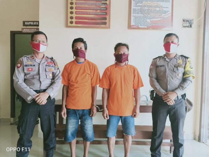 Dua Tersangka Pencurian di Pardasuka Tertangkap