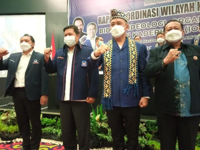 Dua Tokoh Lampung Gabung Partai NasDem