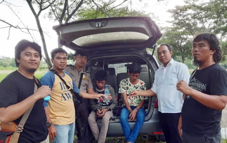 Dua Warga Menggala Kota Ditangkap saat Asyik Pesta Sabu
