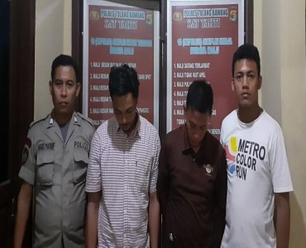 Dua Warga Sidoharjo Ditangkap saat Transaksi Narkoba