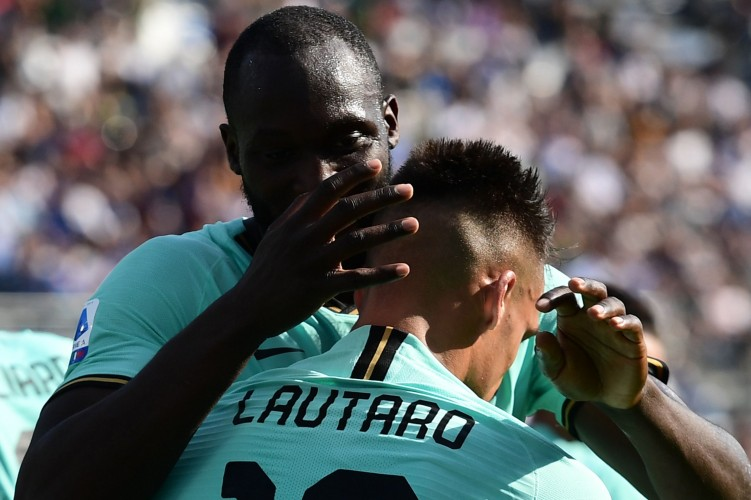 Duet Lukaku dan Lautaro Bawa Inter Bangkit