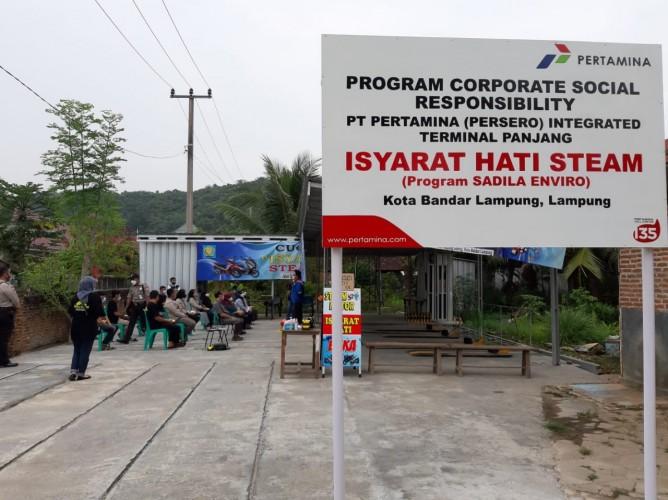 Dukung Kesetaraan Kerja Penyandang Disabilitas, Pertamina Buka <i>Steam</i> Motor 'Isyarat Hati' di Bandar Lampung