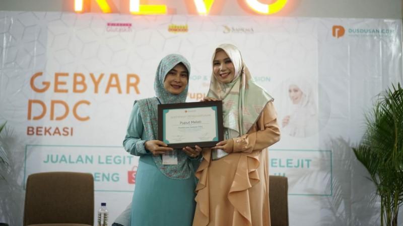 Dusdusan Undang Komunitas Wanita Pebisnis dan Kampus Shopee, Seminar Pemanfaatan Google Bisnis